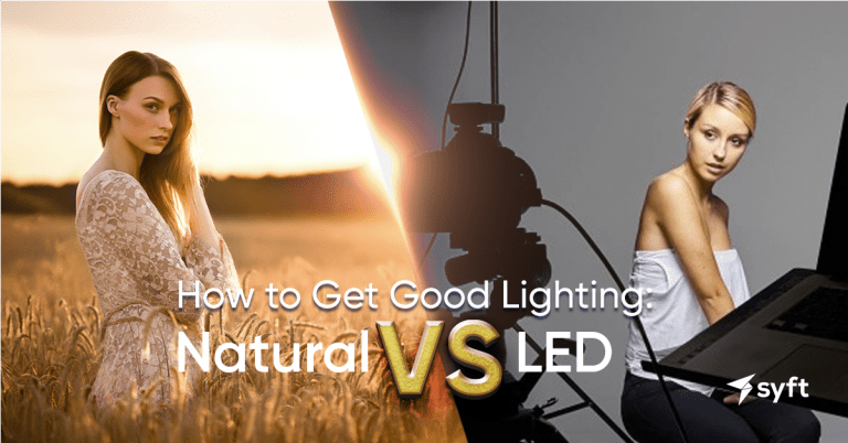 How to Get Good Lighting: Natural vs LED